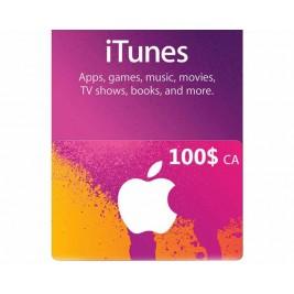 گیفت کارت آیتونز 100 دلاری کانادا + اسکن