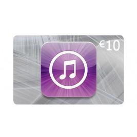 گیفت کارت آیتونز 10 یورو اروپا + اسکن