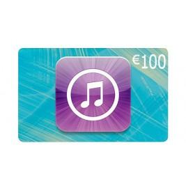 گیفت کارت آیتونز 100 یورو اروپا + اسکن