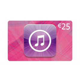 گیفت کارت آیتونز 25 یورو اروپا + اسکن