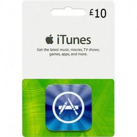 گیفت کارت آیتونز 10 پوند انگلیس + اسکن