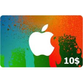 گیفت کارت آیتونز 10 دلاری امریکا + اسکن